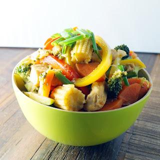 Healthy Chicken and Veggie Stir Fry