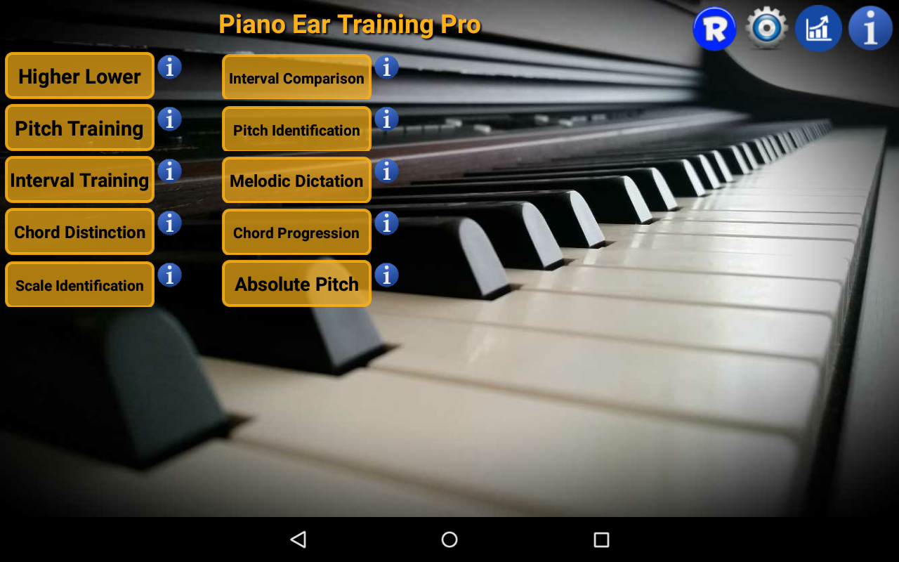 Piano Ear Training Pro- screenshot