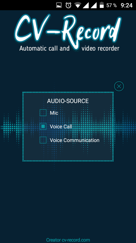 Call recorder, skype recorder- screenshot