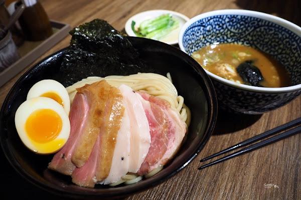 麺屋一燈 ITTO|超好吃的魚介沾麵,台北拉麵推薦(中山美食)
