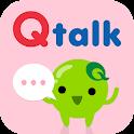 Qtalk - スマートショッピングメッセンジャー icon