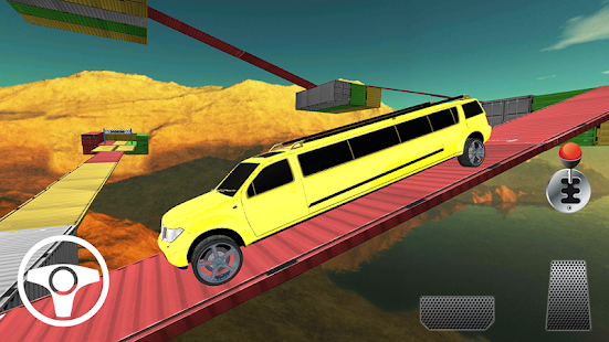 Limo Car Racing On Impossible Tracks