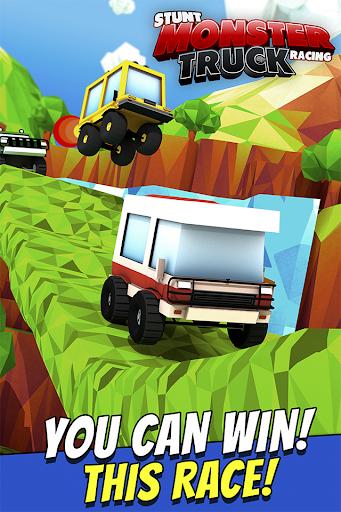 Stunt Monster Truck Racing