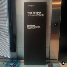 Photo: Directional Signage for Ryan Trecartin exhibition at the NGV #NGV #gallery #RyanTrecartin #wayfinding #signage #walldecal #vinylgraphics