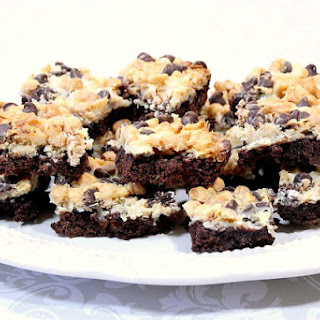 Magic Coconut Brownie Bars