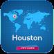 ヒューストンホテルの地図案内天気