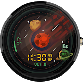Meteor Watch Face