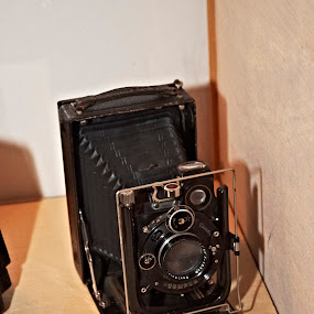 Old camera by Steen Hovmand Lassen - Products & Objects Technology Objects ( old, camera, compur, lens, bellow,  )