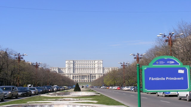 Visit Palace of Parliament in Unirii Square Bucharest