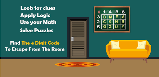 Escape Room  The 4 Digit Code Mod Apk 2.3 (Unlimited money)