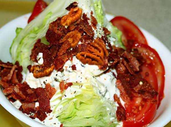 Almost Guilt-free Wedge Salad Recipe