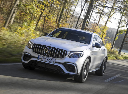 The Mercedes-AMG GLC63 coupe and its non-coupe sibling will pack some serious punch when they arrive in April