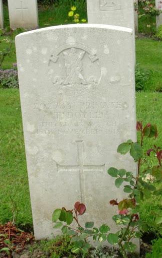 Thomas Doyle grave