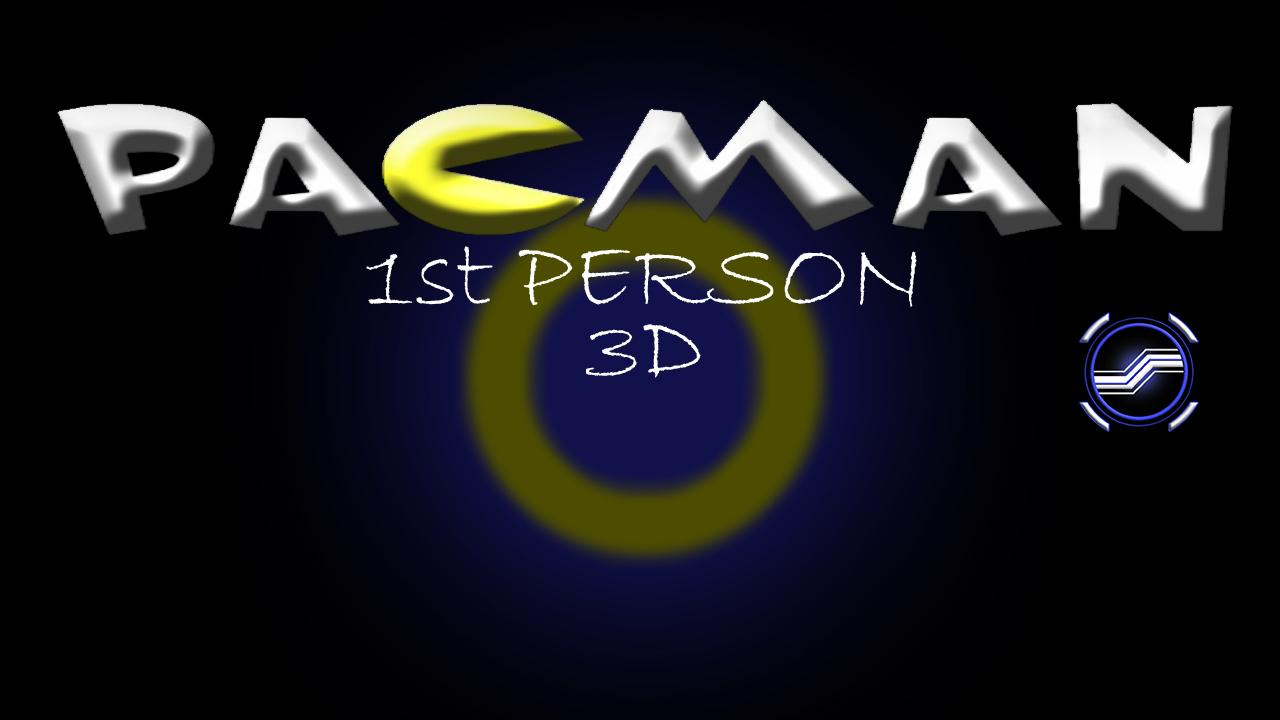 Pacman3D 1st Person- screenshot