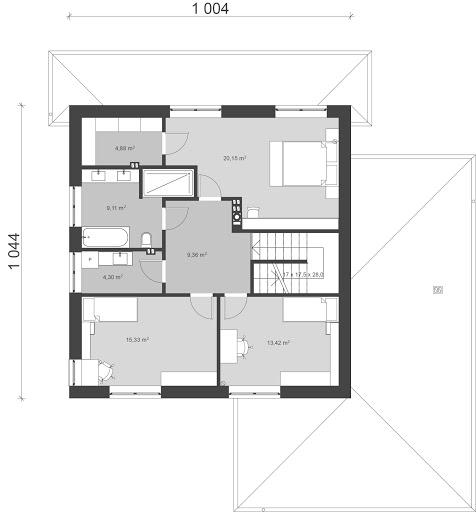 UA41 - Rzut piętra