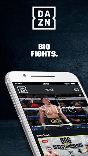 DAZN Live Fight Sports: Boxing, MMA & More 2.5.14 screenshots 1