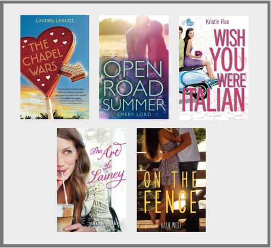 Kimberly's Top Ten Tuesday: YA Contemporaries & New Adult Novels I Want to Read