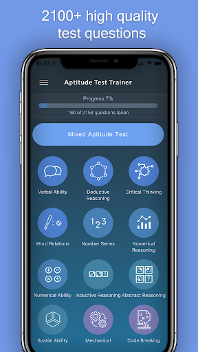 Aptitude Test Trainer screenshot 1