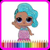 Tải Lol Surprise Dolls Coloring Games miễn phí