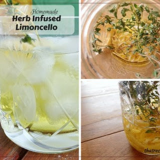 Thyme Infused Limoncello