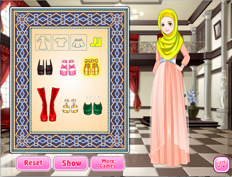 Dress Up Games veiled Makeup