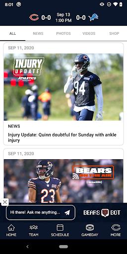 Chicago Bears Official App screenshot 2