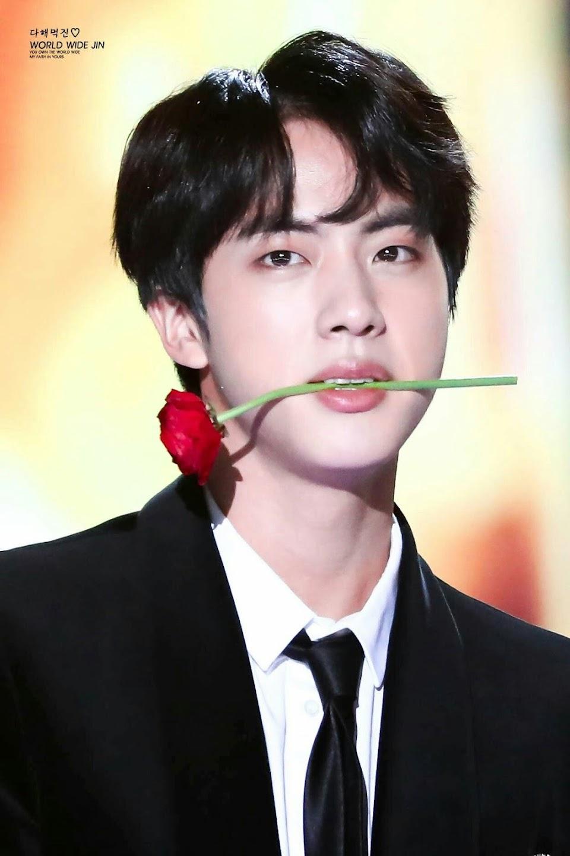 BTS Jin Flower