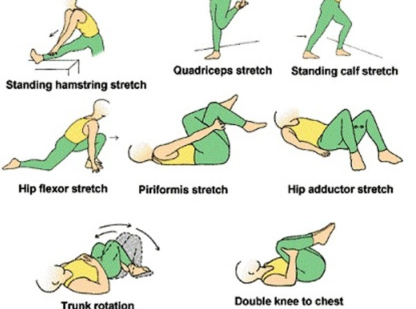While still in bed, gently stretch your body for about 2-3 minutes. Start by...
