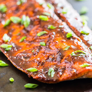 Cajun Honey Glazed Salmon