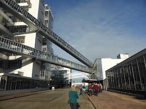 Photo: 29 0oktober 2016 CREO Rotterdam / Delft, Van Nelle fabriek: Luchtbruggen van magazijnen naar fabriek