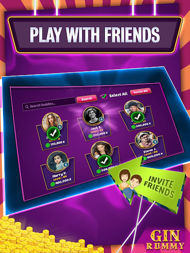 Gin Rummy Online - Multiplayer Card Game 14.1 screenshots 18