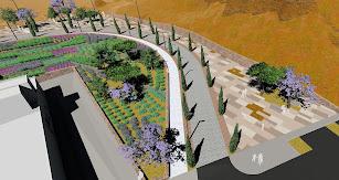 Imagen del diseño previsto para la actuación de la primera fase de La Hoya
