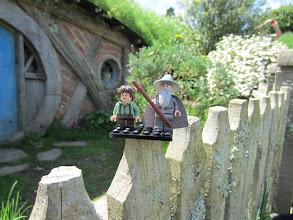 Photo: ¡Gandalf y Frodo!