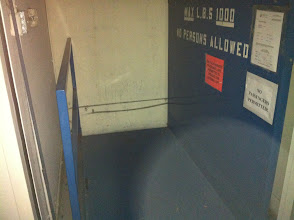Photo: Freight Elevator