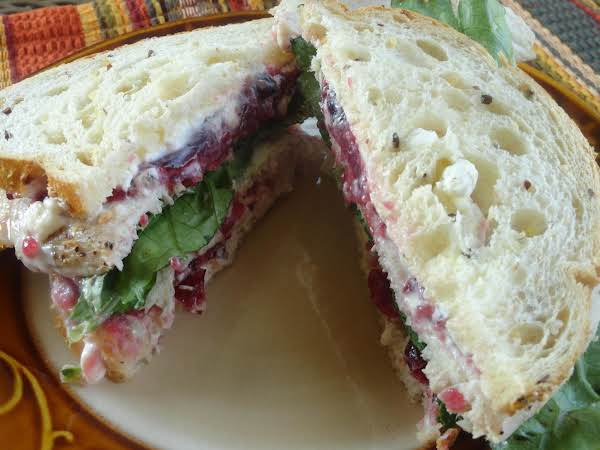 Turkey Cranberry Sandwich Recipe
