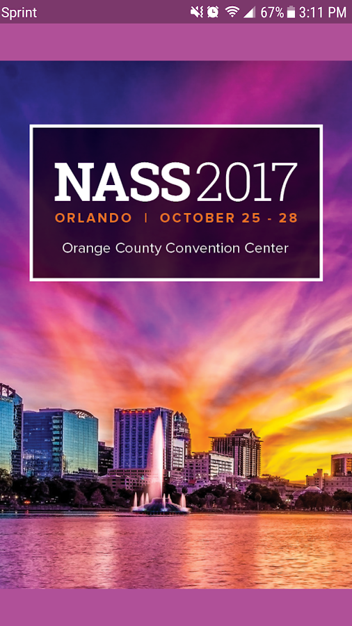 NASS 2017 Annual Meeting- screenshot