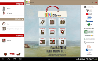 Screenshot of Salone del Libro di Torino
