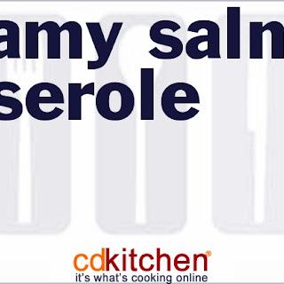 Creamy Salmon Casserole
