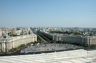 Photo: View from the People's Palace - Bucharest, Romania