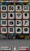 Graffiti Wallpaper&icon - screenshot thumbnail 02