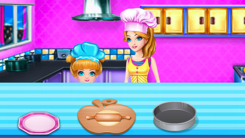 Little Chef - Cooking With Mommy- screenshot