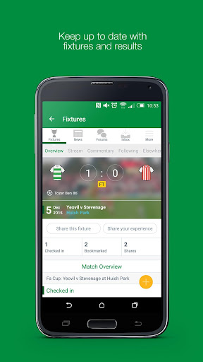 Fan App for Yeovil Town