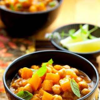 Thai Yellow Vegetable Curry (Vegan/gluten-free!).