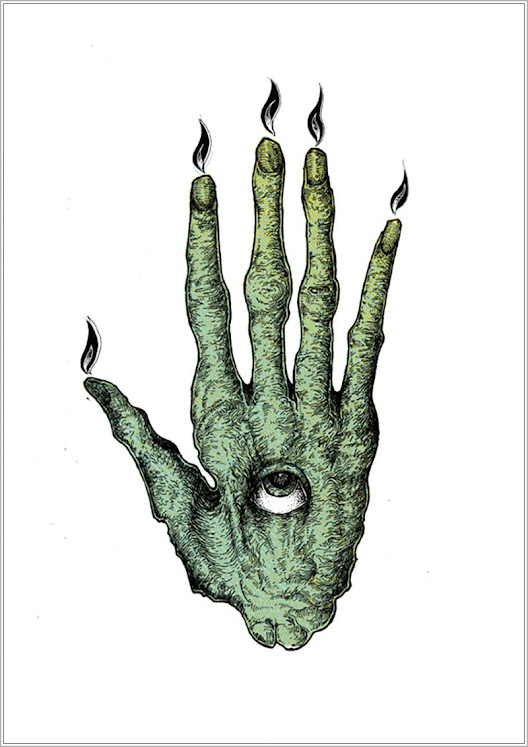 Mão da Glória, a mão humana seca de um homem enforcado