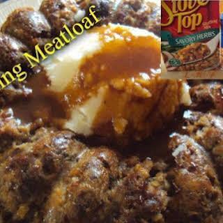 Stuffing Meatloaf.
