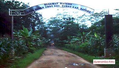 Photo: Gapura Masuk Desa Durenombo