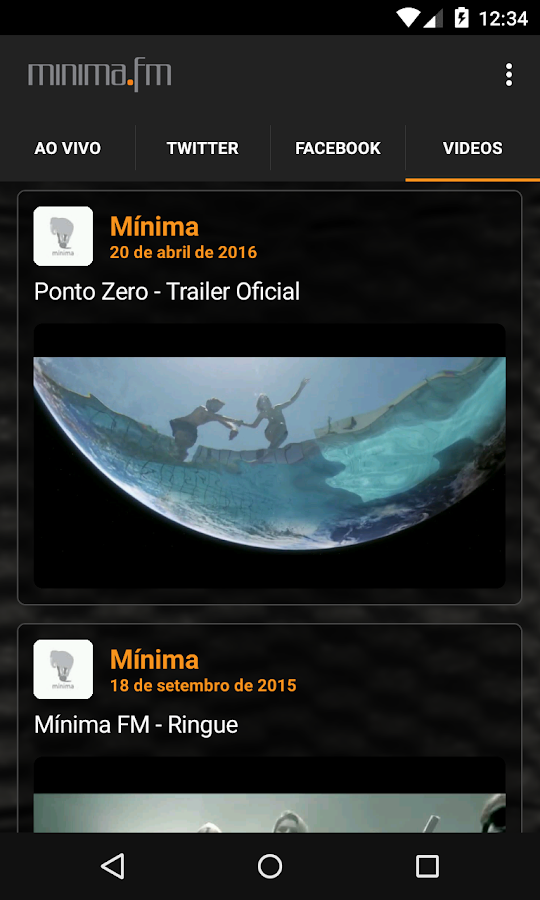 minima.fm- screenshot