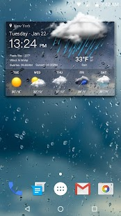 Download Clock & Weather For PC Windows and Mac apk screenshot 2