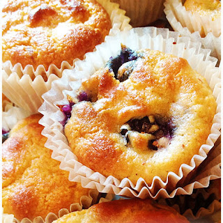Healthy Blueberry Muffins Recipe Low Carb and Gluten Free