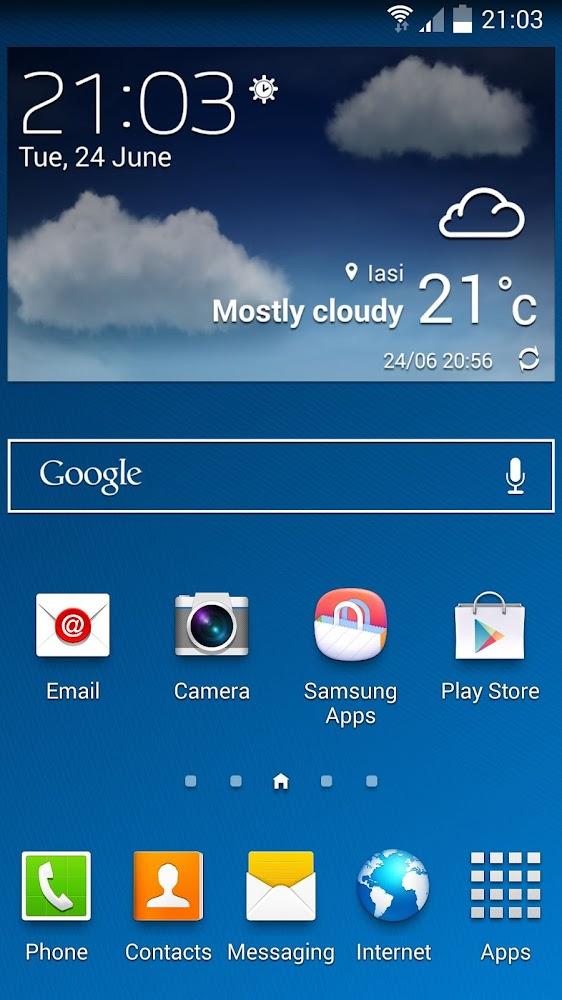 Samsung Galaxy S4 Simulator - App Demo